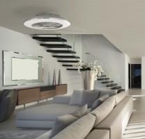 Ventilateur de plafond Alisio - Argent