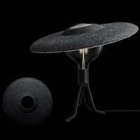 Lampe Chapeau Shade Gris D.33