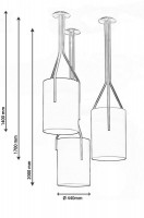 Suspension Arborescence  -CVL Contract- L H.140 et D.40