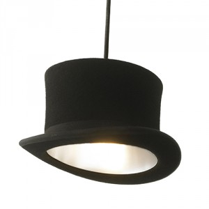 Suspension Wooster - noir/argent
