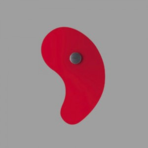 Bit 1 applique  / plafonnier rouge - Foscarini