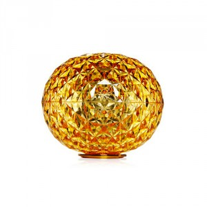 Planet lampe LED ambre - Kartell