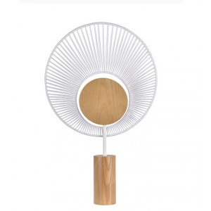 Lampe à poser Oyster Blanc - Forestier