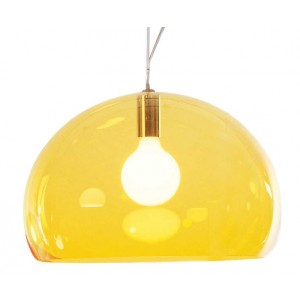 Fl/y suspension jaune - Kartell