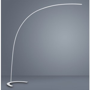 Lampadaire Arc LED blanc