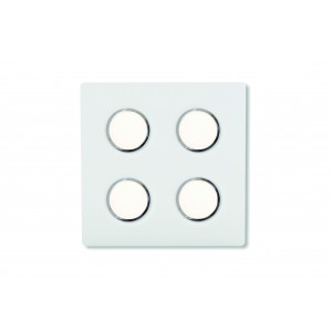 Applique/Plafonnier LED Brick Quadro 4 Lumen Center