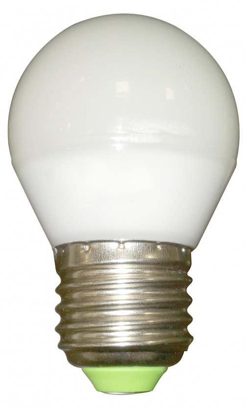 Ampoule LED sphérique E27 5W 400 lm