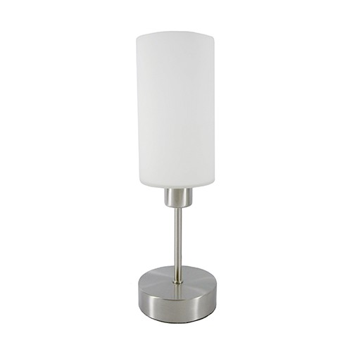 Jeancel Luminaires Lampe Tactile Loft 60w Nickel Discover Table