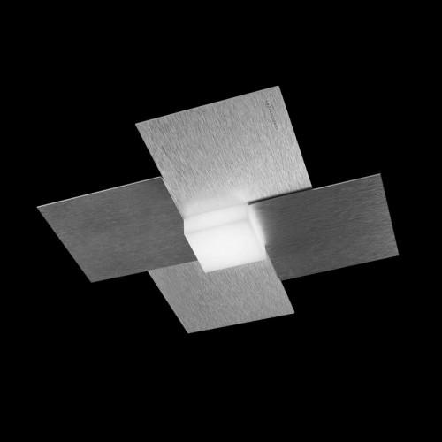 Applique/Plafonnier LED Creo aluminium 680 lm