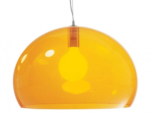 Fl/y suspension orange - Kartell