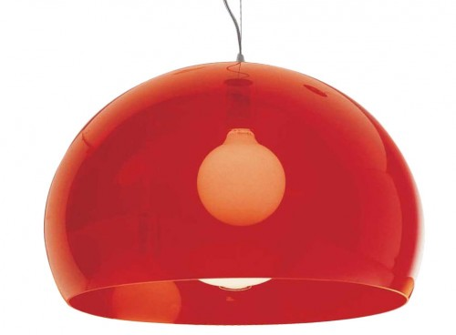 Fl/y suspension rouge - Kartell