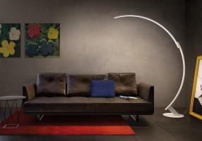 Kyudo lampadaire blanc - Kundalini