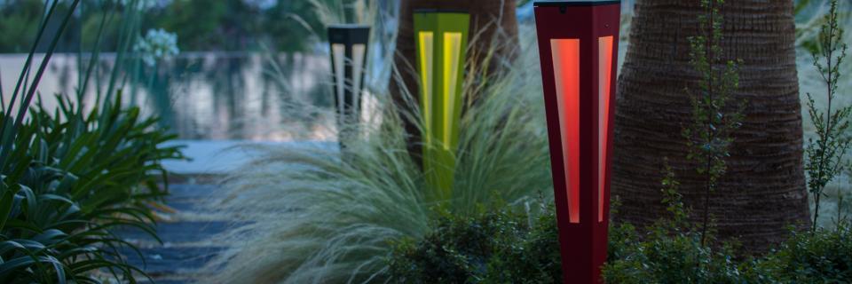 Luminaires solaires : Esthétiques & Ecologiques