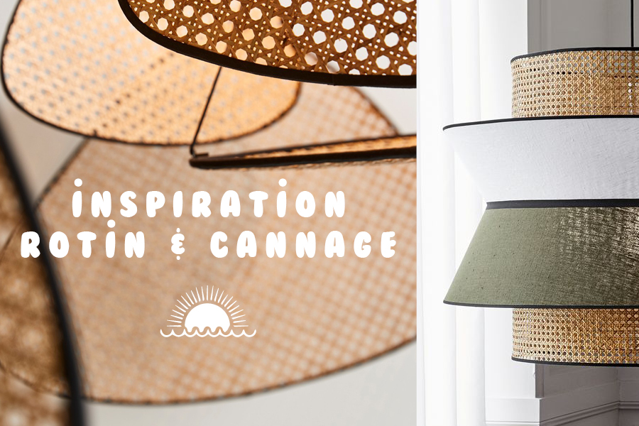 Inspiration rotin cannage